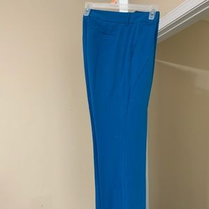 New York & Company Cerulean blue dress pants